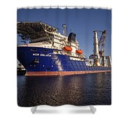 Giant Ship's Shower Curtain