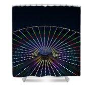 Giant Wheel Ferris Wheel Shower Curtain