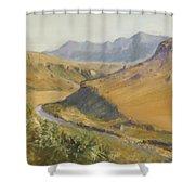 Giants Castle Shower Curtain