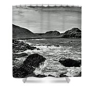 Giant's Causeway 5 Shower Curtain