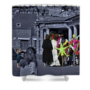 Giants Party Shower Curtain