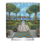 Giardino Italiano Shower Curtain