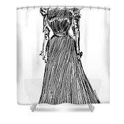 Gibson: A Gibson Girl Shower Curtain