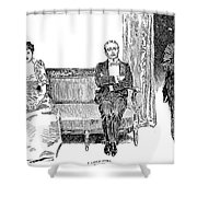 Gibson: A Little Story Shower Curtain