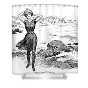 Gibson: Bather, 1902 Shower Curtain