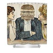 Gibson Girls, 1903 Shower Curtain