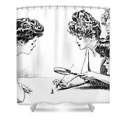 Gibson Girls 1904 Shower Curtain