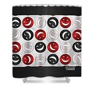 Giddy Rbs Shower Curtain