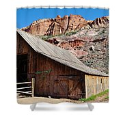 Gifford Homestead Capitol Reef National Park Shower Curtain