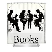 Gift Books 1920 Shower Curtain
