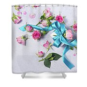 Gift And Flowers Shower Curtain
