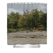 Gift Shop At Cumberland Falls Shower Curtain