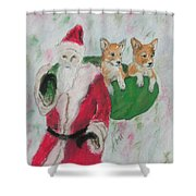 Gifts Of Joy Shower Curtain