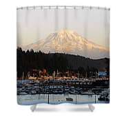 Gig Harbor Shower Curtain