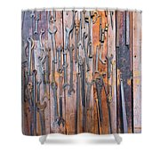 Gigantic Wrenches Shower Curtain