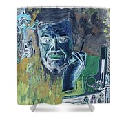 Giger Gun Shower Curtain