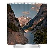 Gigerwaldsee Shower Curtain