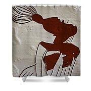 Gigi - Tile Shower Curtain