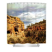 Gila Cliff Dwellings National Monument Shower Curtain