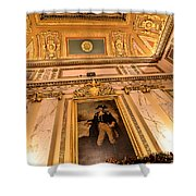 Gilded Ceiling Shower Curtain