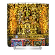 Gilded Chapel Shower Curtain