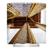 Gilded Shower Curtain