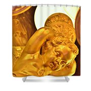Gilded One Shower Curtain
