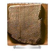 Gilgamesh, 7th Century B.c Shower Curtain