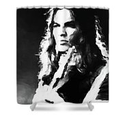 Gilmour #343 By Nixo Shower Curtain