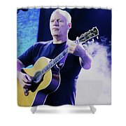 Gilmour Guitar By Nixo Shower Curtain