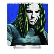 Gilmour Neon Nixo Shower Curtain