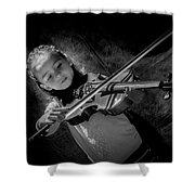 Gilrs And  Music Shower Curtain