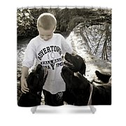 Gimme Some Lovin' Shower Curtain