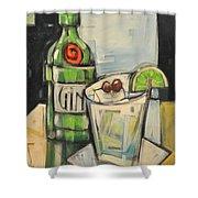 Gin Gimlet Shower Curtain