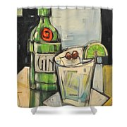 Gin Gimlet Shower Curtain