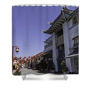 Gin Ling Gifts Los Angeles Shower Curtain