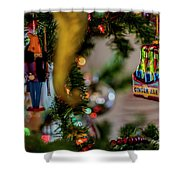 Ginger Ale On Christmas Tree 4392 Shower Curtain