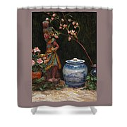 Ginger Jar Shower Curtain