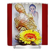 Ginger Man Shower Curtain