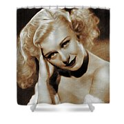 Ginger Rogers, Actress Shower Curtain