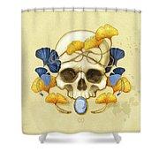 Ginkgo Relic Shower Curtain
