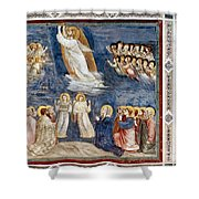 Giotto: Ascension Shower Curtain