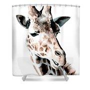 Giraffe II Shower Curtain