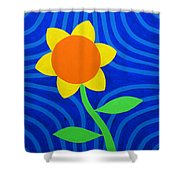 Girasol Shower Curtain