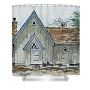 Girl Scout Little House Shower Curtain