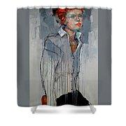 Girl - Spring Shower Curtain
