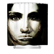 Girl With No Name Shower Curtain