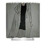 Girlboss Shower Curtain