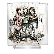 Girlfriends Shower Curtain