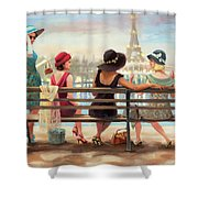 Girls Day Out Shower Curtain
